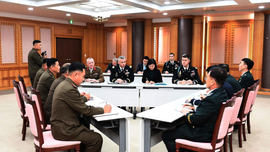 2 Koreas, US-led UN Command meet again at Koreas' border