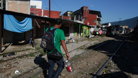 The Latest: Mexico: 1,699 Hondurans have filed for asylum