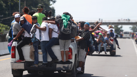 Second migrant caravan: New group rushes to join ranks, deportees vow return to America