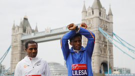 Ethiopian marathoner who made Rio protest returns from exile