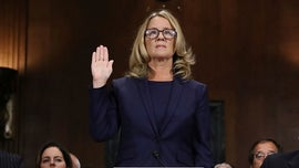 Christine Blasey Ford presents award to Larry Nassar victim in first appearance since Kavanaugh hearing