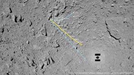 'Crazy' rocky surface of asteroid Ryugu revealed in MASCOT Lander images
