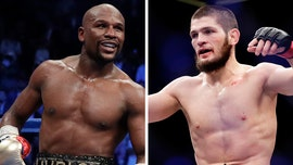 Floyd Mayweather responds to Khabib Nurmagomedov challenge: 'Get the checkbook out'