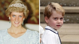 Prince William reveals how son Prince George is already like Princess Diana