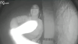 Texas woman caught on video abandoning toddler at stranger's front door