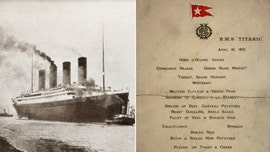 Titanic menu surfaces, offers glimpse into doomed liner's final days