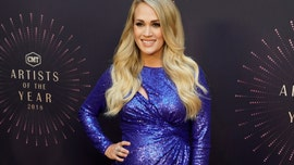 Carrie Underwood reveals her second pregnancy is 'harder' than the first