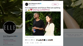 Elle magazine slammed for lying about Kim Kardashian, Kanye West breakup to promote voter registration