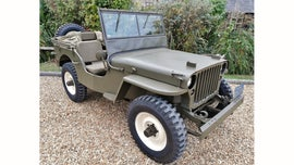 Steve McQueen's WWII Jeep is reporting for auction