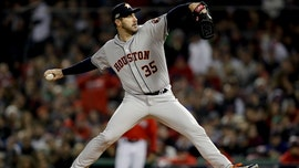 Verlander tops Sale, Cora ejected as Astros cool off Red Sox in Game 1 of ALCS