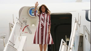 Melania Trump tours African nations on first solo international trip as first lady