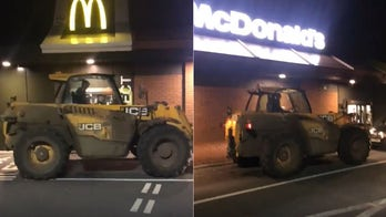A manure truck backed into a McDonald's and it didn't stink