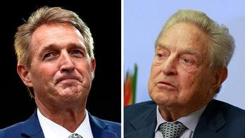 Anti-Kavanaugh protesters accosting senators have ties to Soros