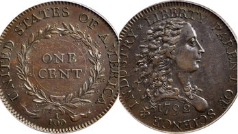 $1 million for a penny? Extremely rare 1792 coin set for auction
