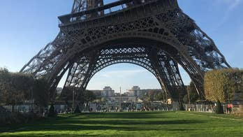 Tourist captures 'drunk' picture of Eiffel Tower when panoramic shot goes wrong