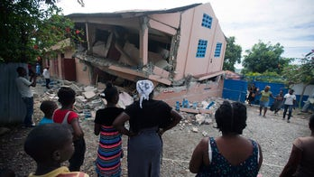 Haiti rattled by aftershock day after earthquake kills at least 12