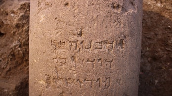 Ancient inscription discovery thrills archaeologists in Israel