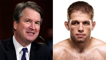 UFC fighter Nik Lentz congratulates 'homie' Supreme Court Justice Brett Kavanaugh after match win