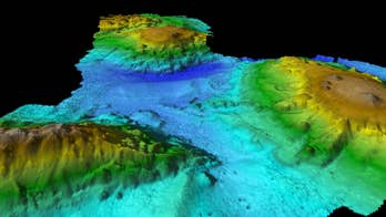 Stunning volcanic 'lost world' discovered deep in the ocean