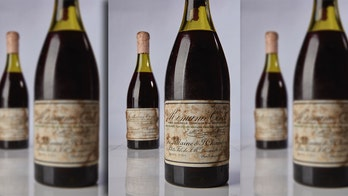 Rare wine auctioned at Sotheby's breaks record for most expensive ever sold