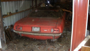 The Barracuda in the barn - classic Plymouth parked for 30 years up for auction