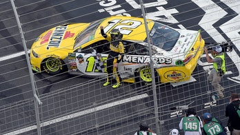 Ryan Blaney wins NASCAR Charlotte 'roval' race as Jimmie Johnson crashes out of playoffs