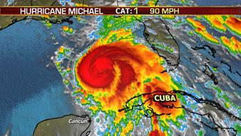 Hurricane Michael intensifying; set to strike Florida as a Cat 3 storm