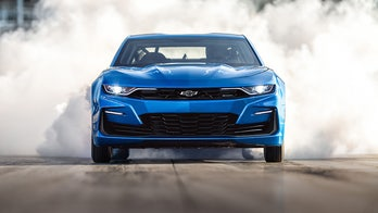 Electric Chevrolet eCOPO Camaro only burns rubber
