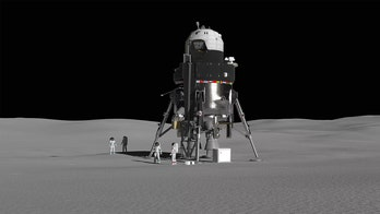 Lockheed Martin's huge Moon lander would allow astronauts to stay on lunar surface for 2 weeks