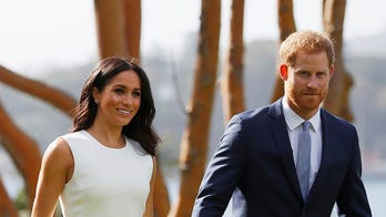 Meghan Markle and Prince Harry make first appearance since pregnancy news, get first official baby gift
