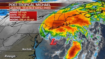 Michael transitions to a post-tropical system, Tropical Storm Sergio expected to make landfall and snow in the Rockies