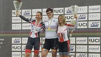 'Not fair': World cycling bronze medalist cries foul after transgender woman wins gold