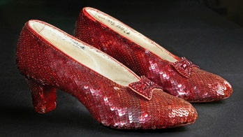 Iconic 'Wizard of Oz' ruby slippers to be displayed at National Museum of American History