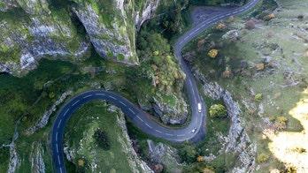 Best driving road in U.K is...?