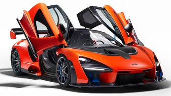 A million-dollar McLaren Senna supercar was crashed on the day it was delivered