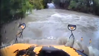 Texas bus driver arrested after attempting to drive through floodwaters with student on board, video shows
