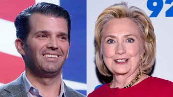 Trump Jr. suggests media hypocrisy in coverage of Clinton remark on Holder, Booker