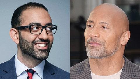 Dwayne 'The Rock' Johnson vs. CNN reporter