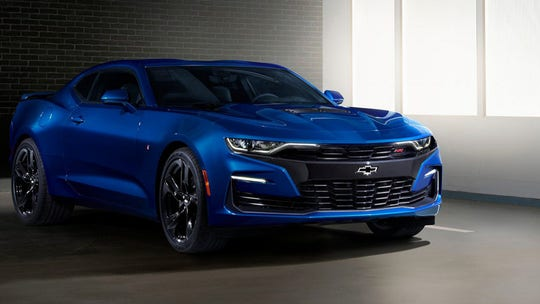 Chevrolet testing waters for two Camaro hybrids, including V-8