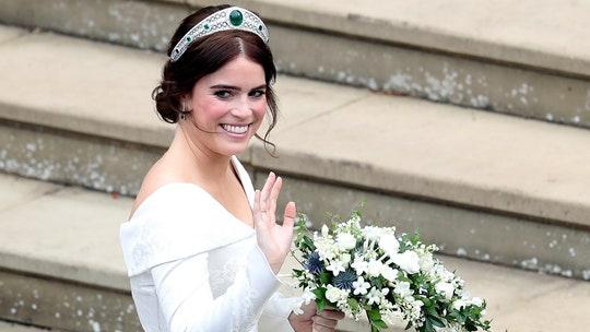 Zac Posen shares never-before-seen photo of Princess Eugenie's wedding dress