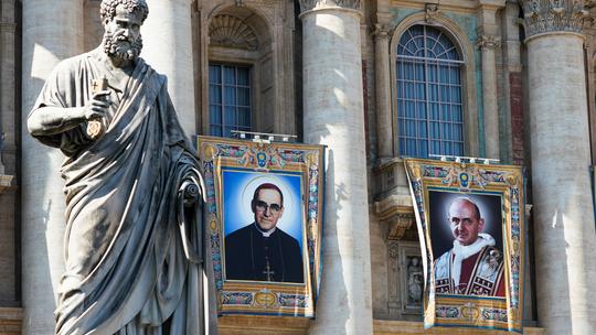 Pope to canonize El Salvador's Oscar Romero, Pope Paul VI