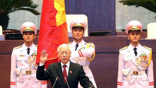 Vietnam parliament elects Communist Party chief as president