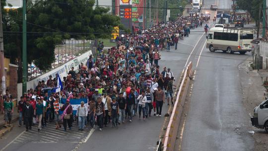 AP Explains: The growing migrant caravan on way to US border
