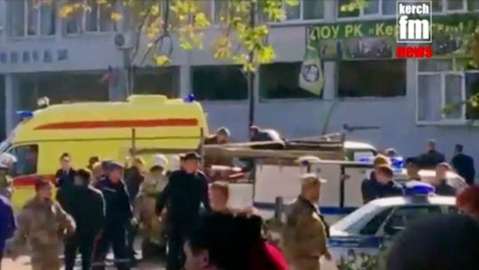 Student carried out deadly attack at Crimea college before killing himself, official says