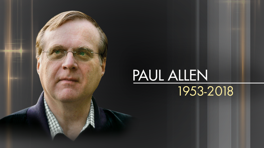 Paul Allen, co-founder of Microsoft, dead at 65, family says