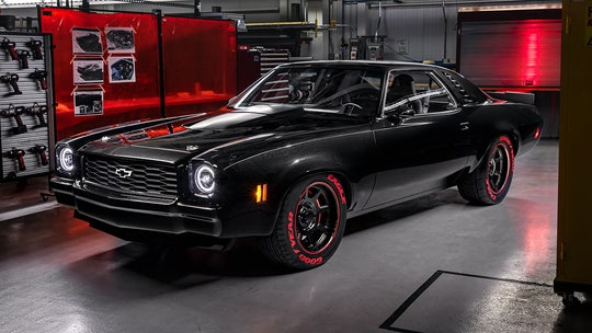 Chevy debuts Corvette ZR1's 755 hp V8 as crate engine in 1973 Chevelle