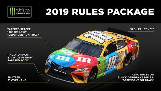 NASCAR announces big rule changes for 2019