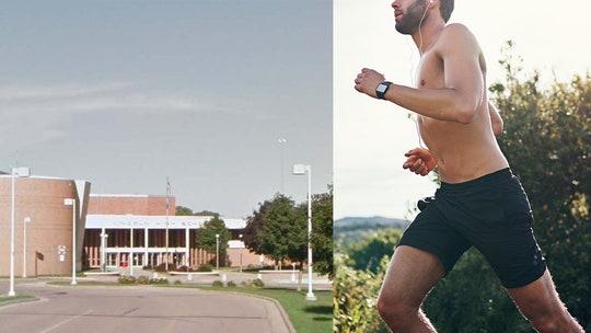 South Dakota high school cross-country runner protests athlete dress code