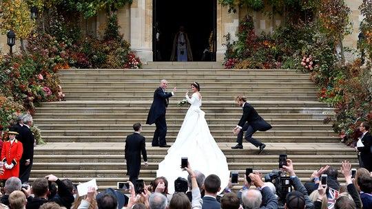 Princess Eugenie marries Jack Brooksbank in Windsor Castle royal wedding ceremony