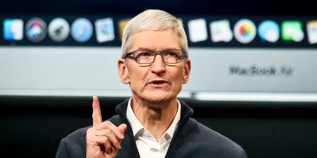 Apple CEO Tim Cook speaks during an eventuality to announce new products Tuesday Oct. 30, 2018, in Brooklyn,New York.